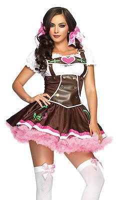 Lil' German Girl Costume, Leg Avenue 83668, Adult Women's Size S/M, - Lil Girl Kostüm