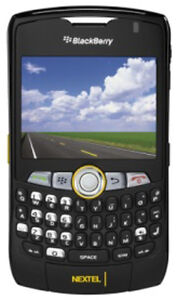 NEW BLACKBERRY CURVE 8350i BLACK UNLOCKED NEXTEL WORLDWIDE PHONE SB