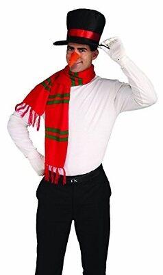 Snowman Costume Kit (Adult)Forum Novelties Men's Snowman Costume Kit Hat Nose](Snowmen Costume)