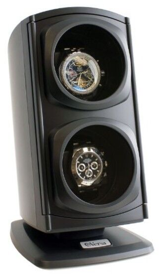 Double Watch Winder Automatic Rotation Storage Display Organ