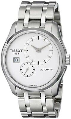 New Tissot Couturier  Stainless Steel Automatic Men's Watch T0354281103100