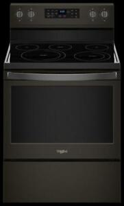 Whirlpool YWFE550S0HV 5.3 cu. ft. Freestanding Electric Range on cheap deal (BD-2177)