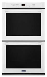 MAYTAG MEW9627FW 8.6 CU. FT. 27-INCH WIDE DOUBLE WALL OVEN (BD-2069)