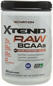 BRAND NEW Scivation, Xtend Raw BCAAS, 30 Servings,
