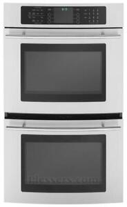 "Jenn-Air 30"" Floating Glass Electric Double Wall Oven"