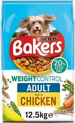 Bakers Complete Weight Control/Light Dry Dog Food - 12.5kg
