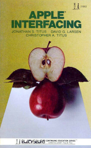1981 Apple II Interfacing 6502 Microprocessor Breadboard Bugbook Apple IIe IIGS