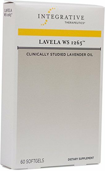 Integrative Therapeutics Lavela WS 1265 Lavender Oil 60 Softgels Exp 01/2022