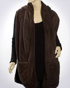 Plush-Hooded-Scarf-with-Pockets-Many-Colors
