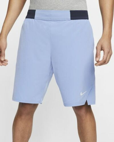 "NWT! Nike NikeCourt Flex Ace Men's 9"" Tennis Shorts Size M CI9162-478 (#3449)"