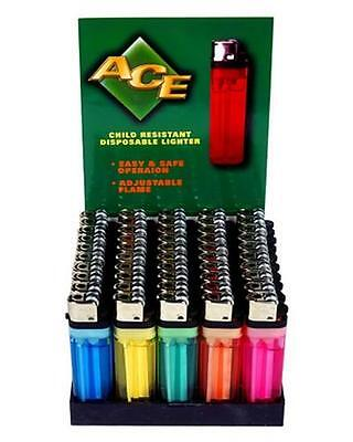 WHOLESALE LOT OF 25 NEW DISPOSABLE CIGARETTE LIGHTERS REGULAR CLASSIC STYLE