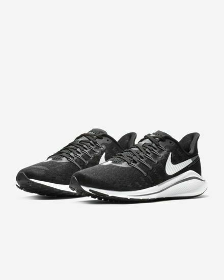 differently 62c35 1dc73 Nike Air Zoom Vomero 14 (W) Running Shoes Black Gray White AQ3122-010 Men's  NEW