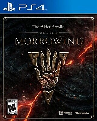 Ps4 Elder Scrolls Online Morrowind New Sealed Region Free    Releases 6 06