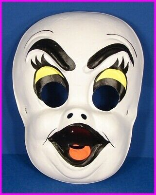 * Childs Casper the Friendly Ghost Halloween Mask Costume Kids Vintage NEW * - Casper Friendly Ghost Halloween Costume