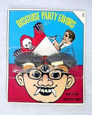1960's Vintage Halloween Disguise Eyelashes Nick Fury ?](Nick Fury Costume Halloween)