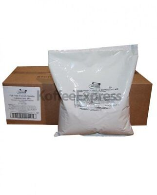 Superior Cappuccino Mix Fat Free French Vanilla 6 Bags2 Lbs Each