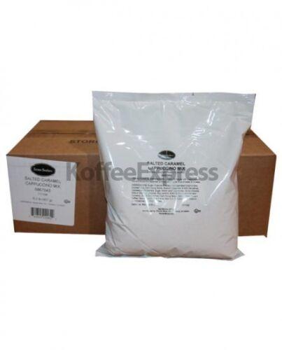 SUPERIOR CAPPUCCINO MIX SALTED CARAMEL FARMER BROS BRAND 6 BAGS/2 LBS EACH