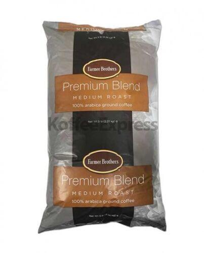 Farmer Brothers Medium Roast 100% Arabica Ground Coffee, 1 bag (5 lbs) - #1395