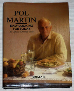 Easy Cooking for Today cookbook . Pol Martin . hardcover Cambridge Kitchener Area image 1