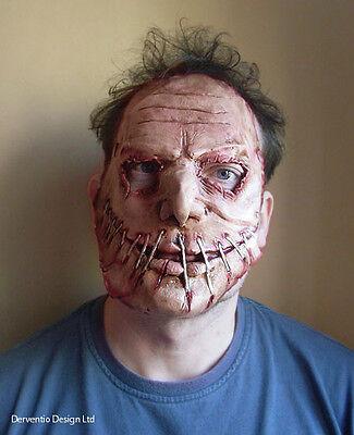 Hombres Miedo Zombie Máscara Lujo Látex Disfraz de Terror Halloween Maske Nuevo