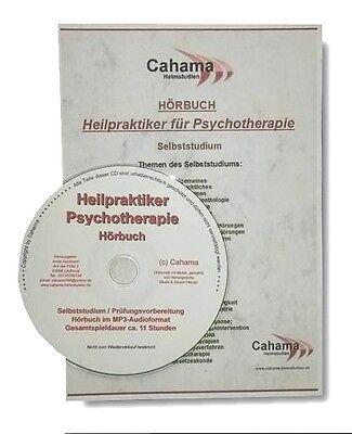 HÖRBUCH Heilpraktiker Psychotherapie - Selbststudium für die Prüfung, MP3-Format
