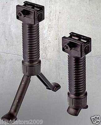 US ARMY PROJECT SALVO PAINTBALL GUN BIPOD, US ARMY CARVER ONE BIPOD, PAINTBALL G