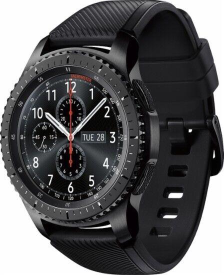 Samsung Gear S3 Frontier Smart Watch w/ Touchscreen, Dust/Wa