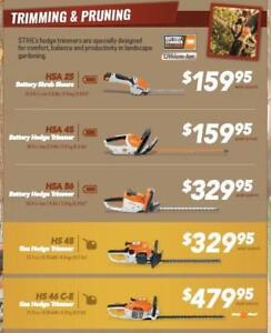 Stihl 2018 Fall Dealer Days Hedge Trimmer Sale