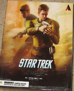 Star Trek - Captain Kirk Figure - Play Arts - NEW