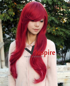 NWT-Stylish-Long-Dark-Red-Wavy-Cosplay-Hair-Wig