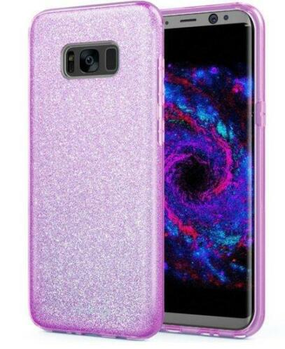 Galaxy S8 Plus Bling Luxury Siliconen case - roze