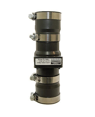 New Jackel Dj-545 2 Way Check Valve - Sump Pump