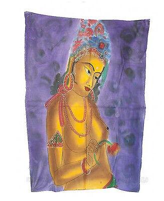 Batik Hanging Woman Hindu Erotic 115x 74cm Crafts India Peterandclo 8823