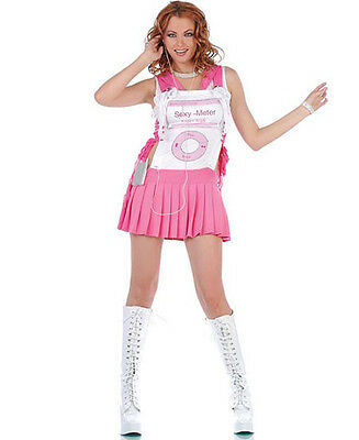 Ipod Halloween Costumes (3 pc. uPod Girl iPod Music Pink Funny Fancy Dress Halloween Sexy Adult)