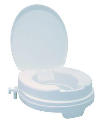 Toilettensitzerhöher, WC Sitz Erhöhung, Toilettensitz Erhöhung mit Deckel, TOP!!