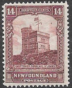 Newfoundland-Scott-Number-155-FVF-NH