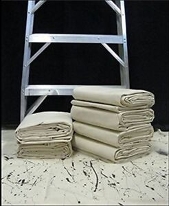 all purpose canvas cotton drop cloth heavy duty washable paint furniture covers