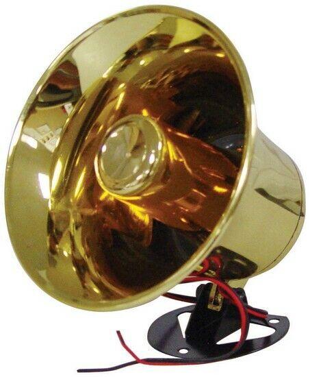 XXX NTX5000 PA Horn Style Speaker 150 Watts w/Shiny Brass & 8 Ohms
