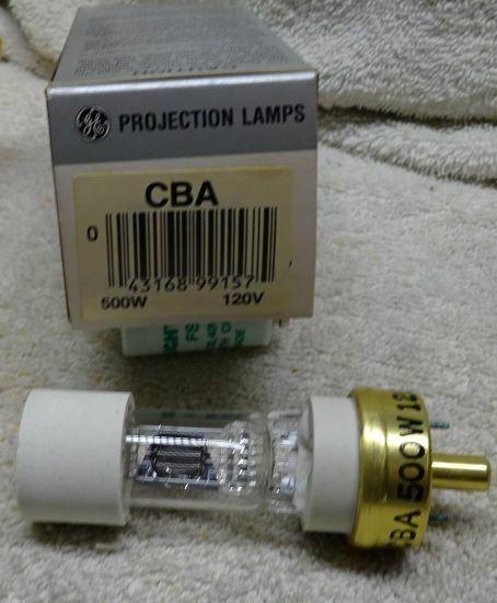 ** GE - PROJECTOR BULB - CBA- UNUSED in Original BOX