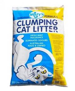 Misty's Cat Litter 20kg only $17 - Delivery Available. Liverpool Liverpool Area Preview