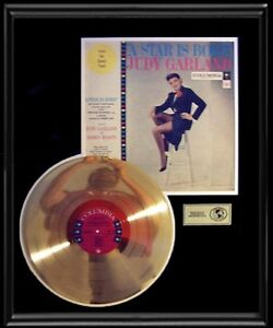 Details about JUDY GARLAND STAR IS BORN ORIGINAL SOUNDTRACK RARE GOLD ...