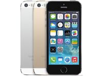 I phone 5s silver 16gb