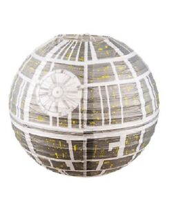 light lamp shade star wars death star paper ceiling light shade ebay. Black Bedroom Furniture Sets. Home Design Ideas
