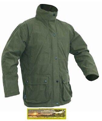 Jack Pyke Hunters Green Waterproof Stealth Jacket. Hunting / Shooting / Fishing
