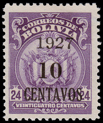 Bolivia Scott 162 (1927) Mint H VF, CV $4.50