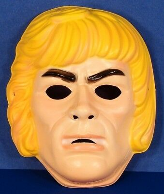 * HE-MAN Costume Mask Masters of the Universe MOTU Ben Cooper 1983 HEMAN NEW * - Master Of The Universe Halloween Costume