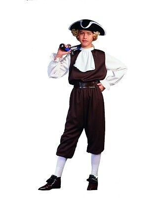 COLONIAL BOY COSTUME JOHN ADAMS COLONIAL CHILD US HISTORY PLAY COSTUMES 90130