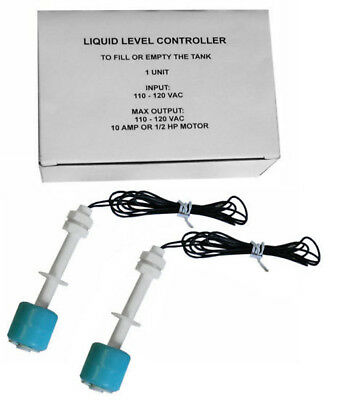 2 Liquid Levelswater Controller Sensor Float Switch Tank1