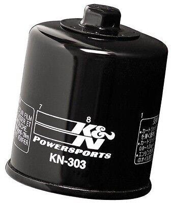 K&N KN-303 Oil Filter for Honda Polaris Kawasaki Yamaha Victory - Authentic K&N