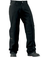 ICON INSULATED MOTORCYCLE CANVAS PANTS - ON SALE REMAINING STOCK